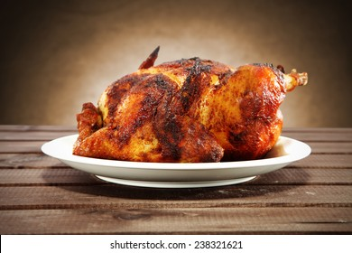 chicken on plate