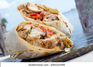 Chicken Philly Wrap
