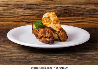 Chicken in Pieces/ Chicken/ Delicious chicken in pieces