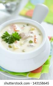 chicken pot soup
