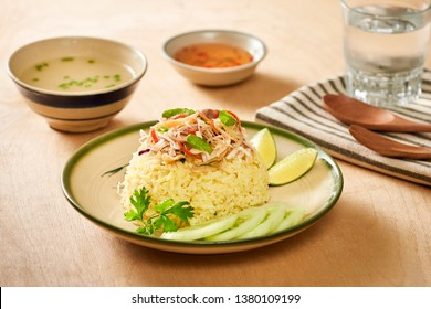 Chicken rice. Chicken rice in Hoi An, Vietnam. Hoi An, known as Faifo. Hoian in Vietnam's Quang Nam Province