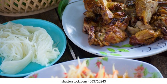 Chicken Roast Be Used Feed Eaten Stock Photo Edit Now 563710243