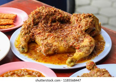 chicken with rujak spice