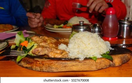 Chicken Sizzler in Nepal