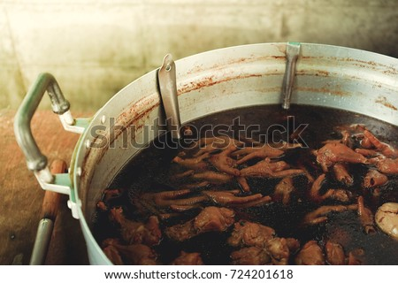 Chicken Soup Chinese Medicine Used Component Stock Photo Edit Now