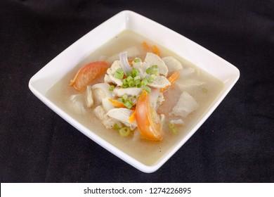 Resep Pilek Biasa - Sup Ayam dan Bubur