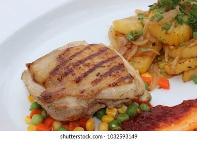 chicken steak set