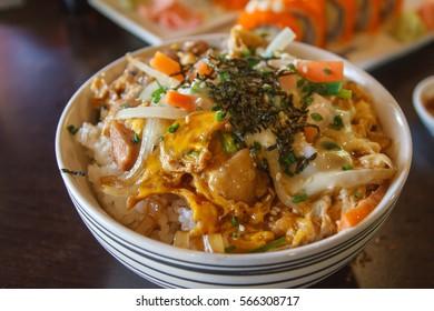 Chicken Teriyaki in Bowl