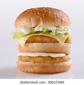 Chicken Tower Burger