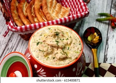 chicken White Handi - Chicken Handi