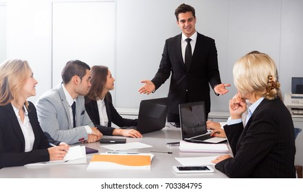 chief speech at meeting