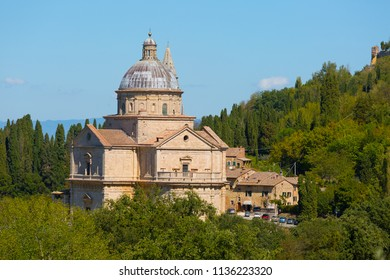 Chiesa di San Biagio church in Montepulciano , Tuscany, Italy