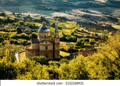 Chiesa di San Biagio church in Montepulciano , Italy.