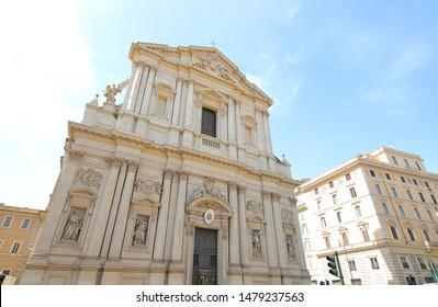 Chiesa di Sant Andrea della Valle church Rome Italy