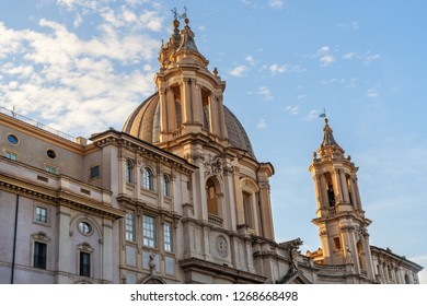 Chiesa di Sant'Agnese in Agone is church in Piazza Navona in Rome. Italy