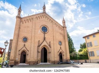 Chiesa Parrocchiale dei Santi Senesio e Teopompo in Castelvetro, Modena, Italy