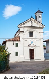"Chiesa  ""San Carlo"" of Costigliole d'Asti, Asti, Piedmont, Italy."