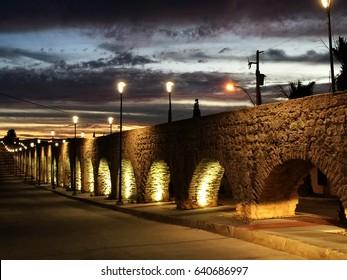 Chihuahua's aqueduct