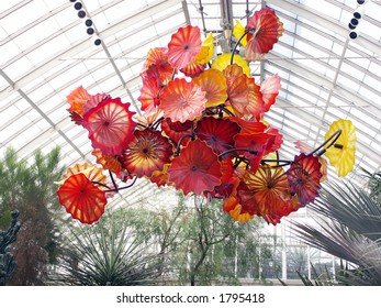 Chihuly exhibit at New York Botanical Garden