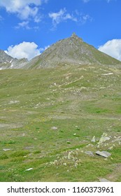 The Chilchhorn above the Nufenen Pass in Southern Switzerland