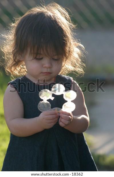 child backlit