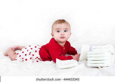 7b3f0f17a45d Cute Infant Redhead Baby Boy Elf Stock Photo (Edit Now) 721981159 ...