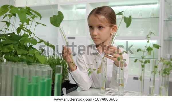 Child Chemistry Lab Kids School Science Stock Photo (Edit
