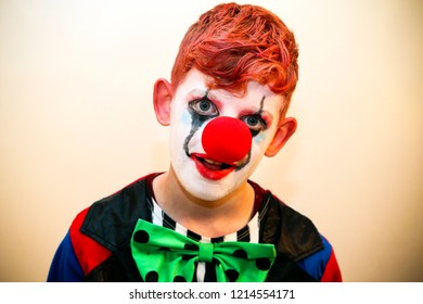Child Clown Halloween Costume