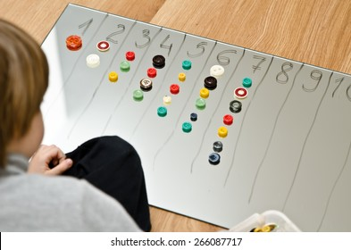 child counts buttons