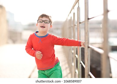 child with down syndrome dancing