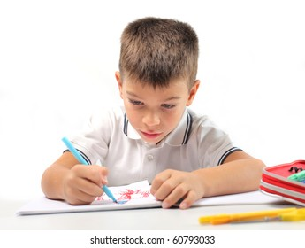 Child drawing