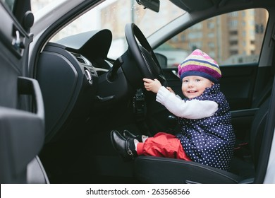 child is driving