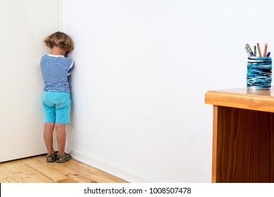 Child feeling isolated due to covid19 or Coronavirus.  .