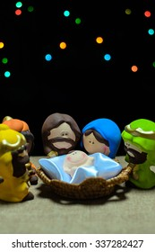 Child figures of Jesus' birth (Christmas)