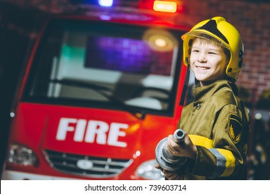 Child Firefighter play