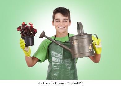 child Gardener kit, plants and flowers