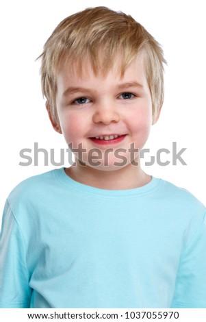 Child Kid Boy Portrait Smiling Face Stock Photo Edit Now