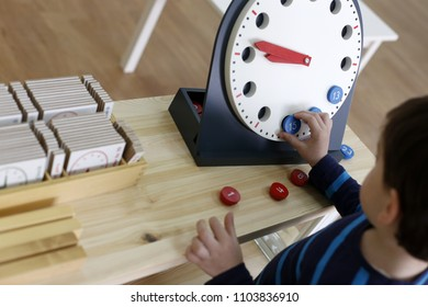 Child learning hours with material