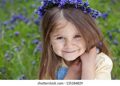 child in nature