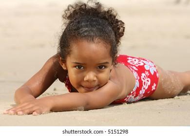Child on a beach