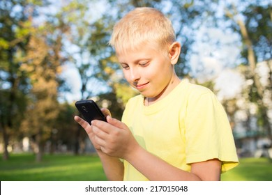 child playing a game on your smartphone