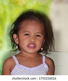 A child portraiture- looking at camera