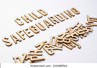 Child safeguarding concept spelled out