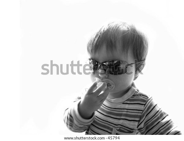Child with shades