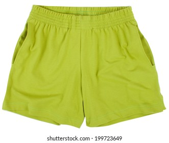 Child Sport shorts. Isolated on a white background