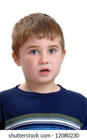 Child with Stunned Expression
