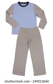 Child suit set isolated on a white background