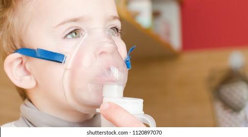 child takes the medicine
