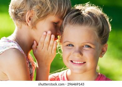 Child, Talking, Secrecy.