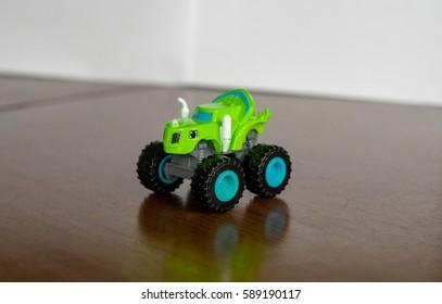 Child toy car monstertruck